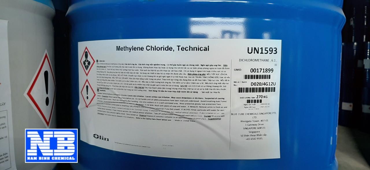Hoá chất Methylene Chloride