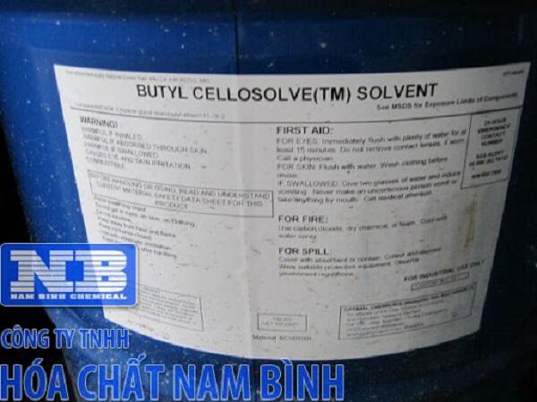 Hóa chất Butyl Cellosolve được phân phối bởi công ty TNHH Hóa Chất Nam Bình