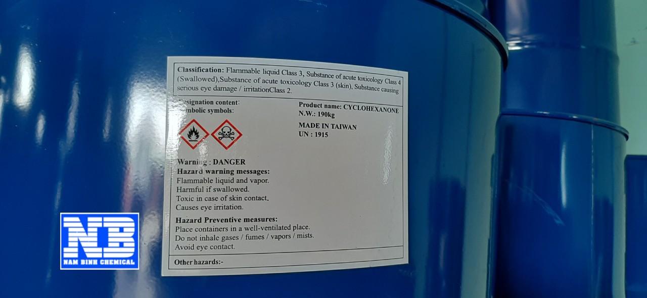 hóa chất Cyclohexanone