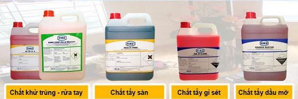 Hóa chất Methyl Ethyl Ketone là nguyên liệu trong chất tẩy rửa công nghiệp