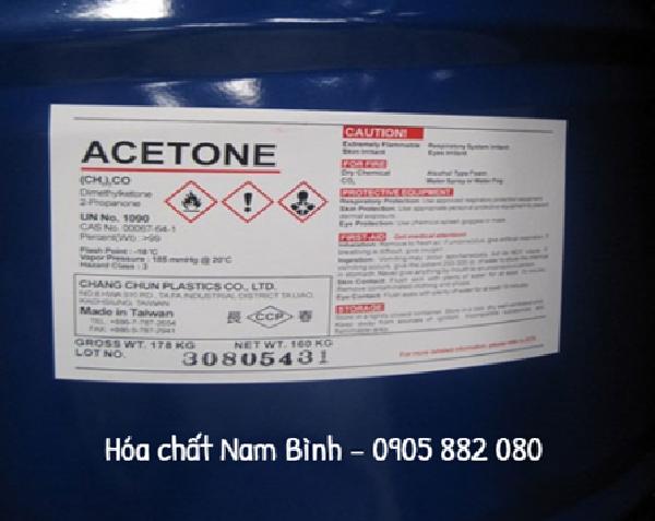 Các phương pháp sản xuất Acetone