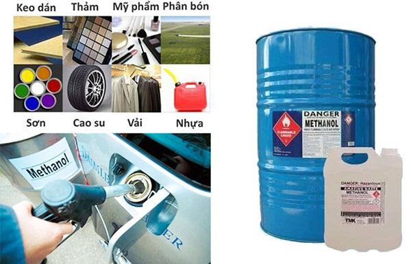 Ứng dụng của hóa chất Methanol