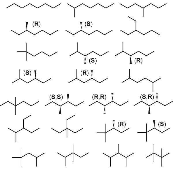 Octane là gì? Các động phân của Octane